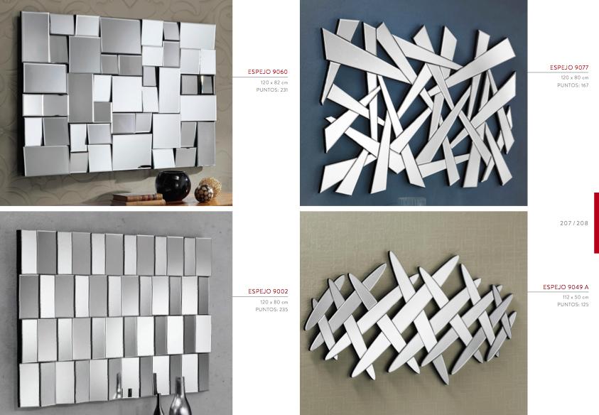 Espejos Modernos 5 Muebles Toscana Guinea - Espejos-modernos