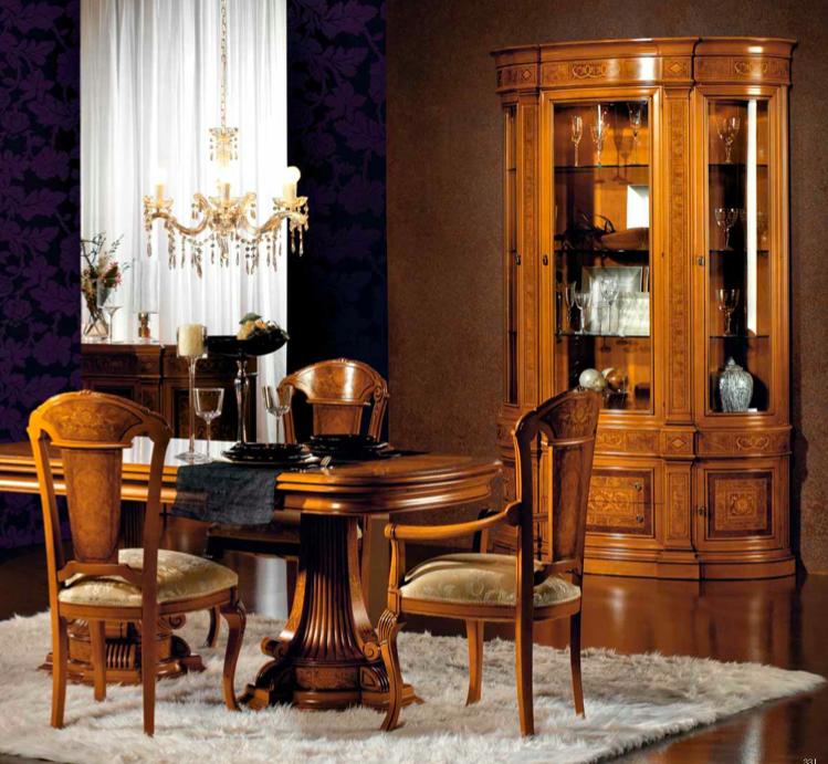 Muebles salón comedor clásico – Muebles Toscana Guinea